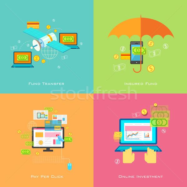 Online ceny rozwiązanie ilustracja projektu internetowych Zdjęcia stock © vectomart