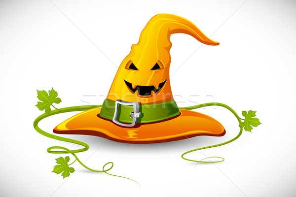 Halloween Witch Hat Stock photo © vectomart