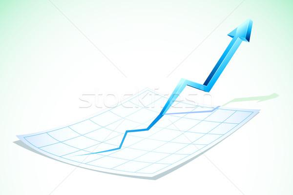 Upward Arrow Stock photo © vectomart
