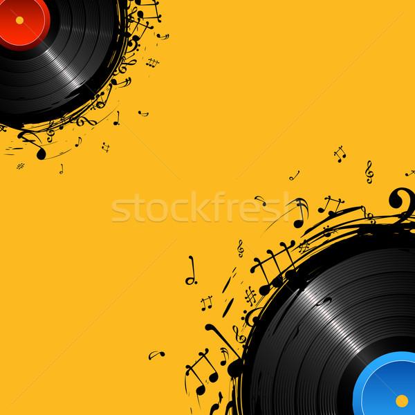 Musical Disc Stock photo © vectomart