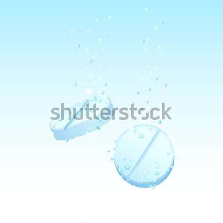 Dissolving Pills Stock photo © vectomart