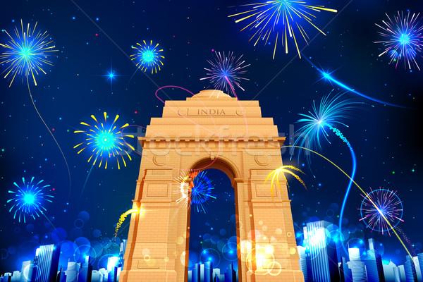 Celebration of India Stock photo © vectomart