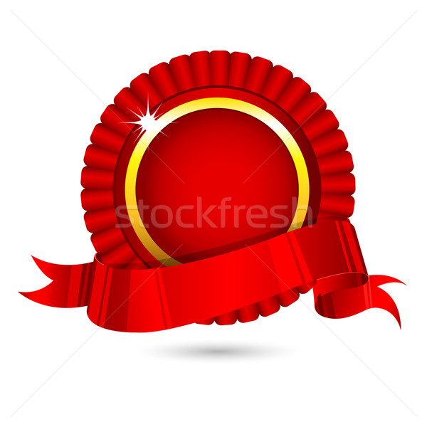 Ribbon Badge Stock photo © vectomart