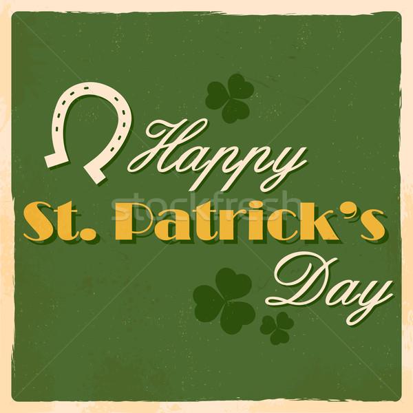 Saint Patricks Day Background Stock photo © vectomart