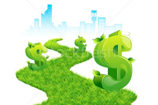 Dollar Path Stock photo © vectomart