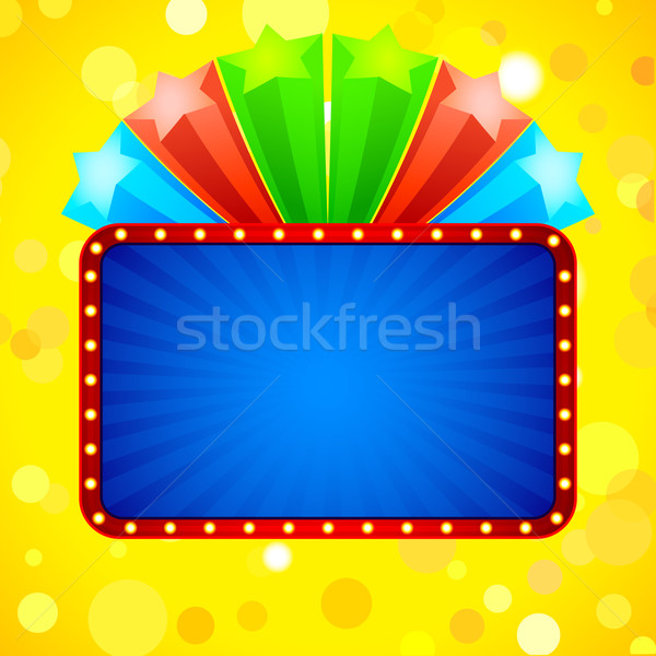 Colorful Star Template Stock photo © vectomart