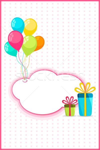 Celebration Card Stock photo © vectomart