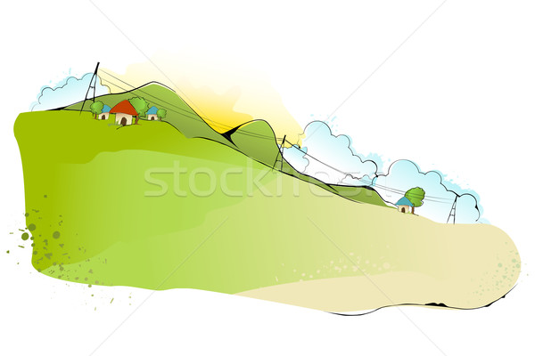Abstract Landscape Stock photo © vectomart