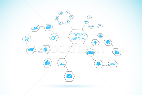 Social Networking Stock photo © vectomart
