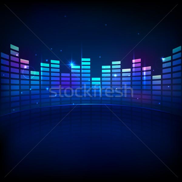 Music Equaliser Stock photo © vectomart
