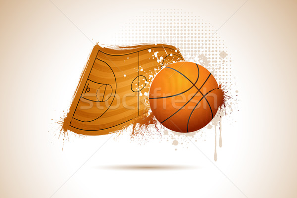 Basket Ball Stock photo © vectomart