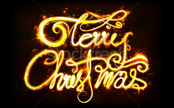 Merry Christmas Stock photo © vectomart
