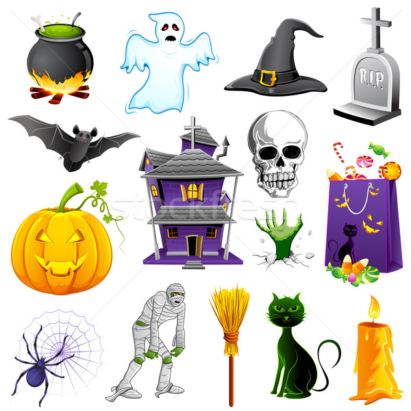 Halloween Element Stock photo © vectomart