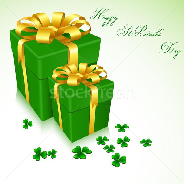 Happy Siant Patrick' Day Stock photo © vectomart