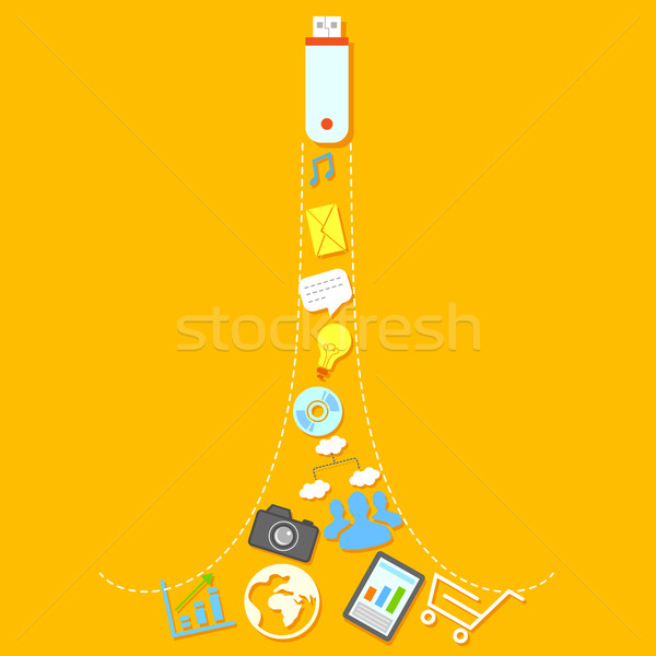 Stock photo: Connectivity