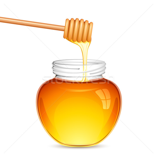 Fresh Honey Stock photo © vectomart