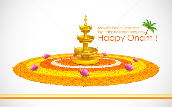 Happy Onam Stock photo © vectomart