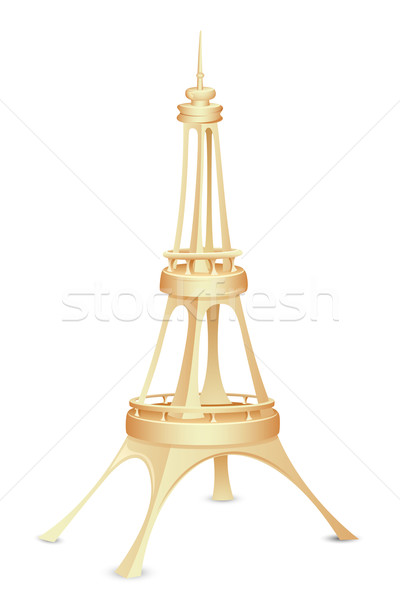 Eiffel Tower Stock photo © vectomart