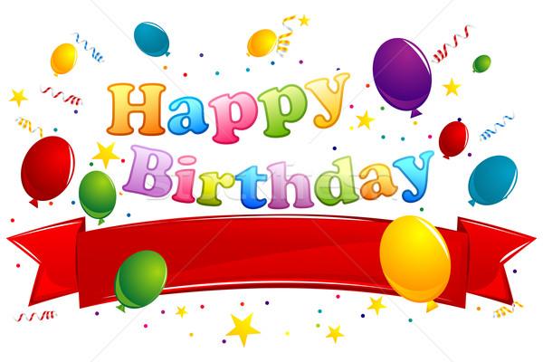 Birthday Card Stock photo © vectomart