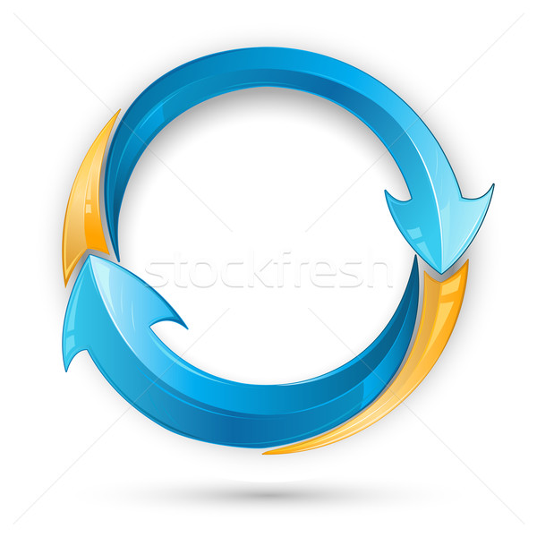 Recycle Arrow Stock photo © vectomart