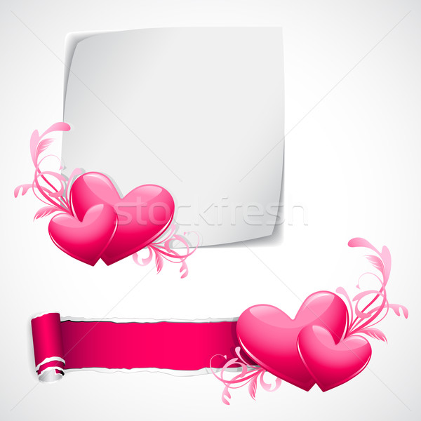 Love Template Stock photo © vectomart