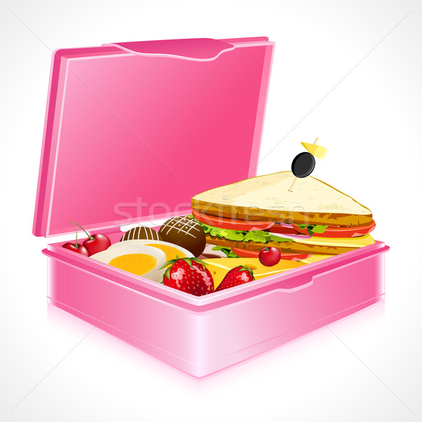 Lunch Box Stock photo © vectomart
