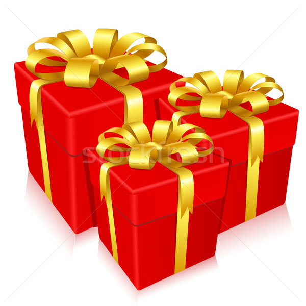 Gift Box Stock photo © vectomart