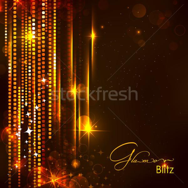 Glitter illustrazione abstract sfondo wallpaper digitale Foto d'archivio © vectomart