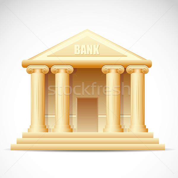Bank Building Stock photo © vectomart