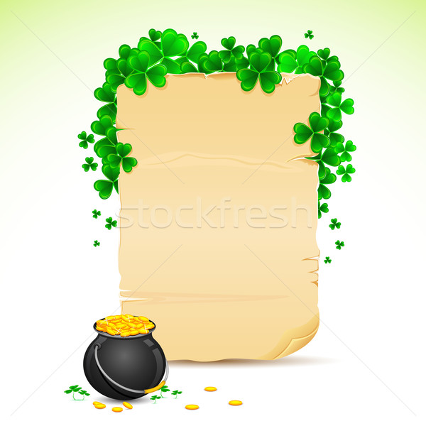 Saint Patrick's Day Card Stock photo © vectomart