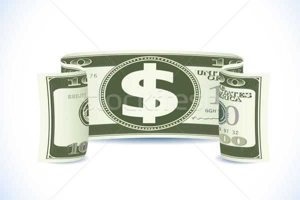 Dollar Note Stock photo © vectomart