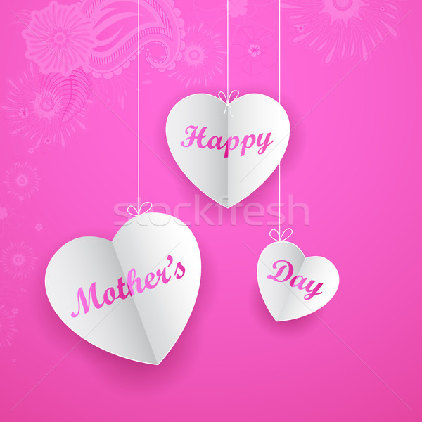 Happy Mother's Day Background Stock photo © vectomart