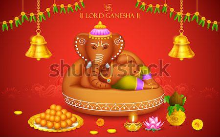 Banner for Ganesh Chaturthi Stock photo © vectomart
