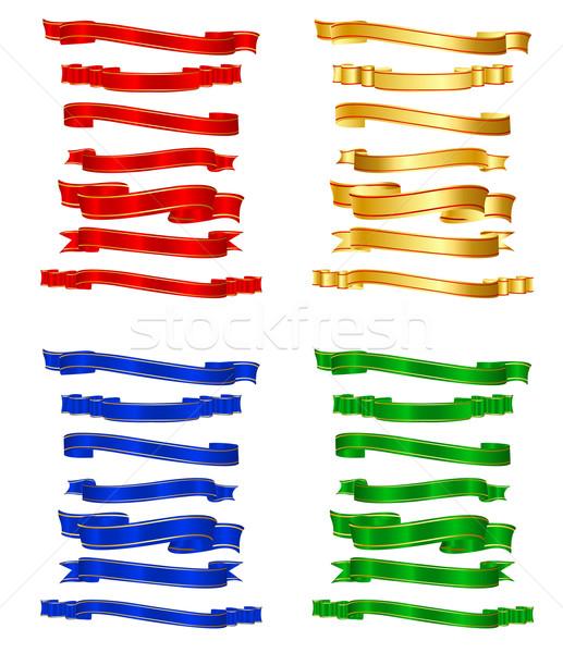 Colorful Ribbon Stock photo © vectomart