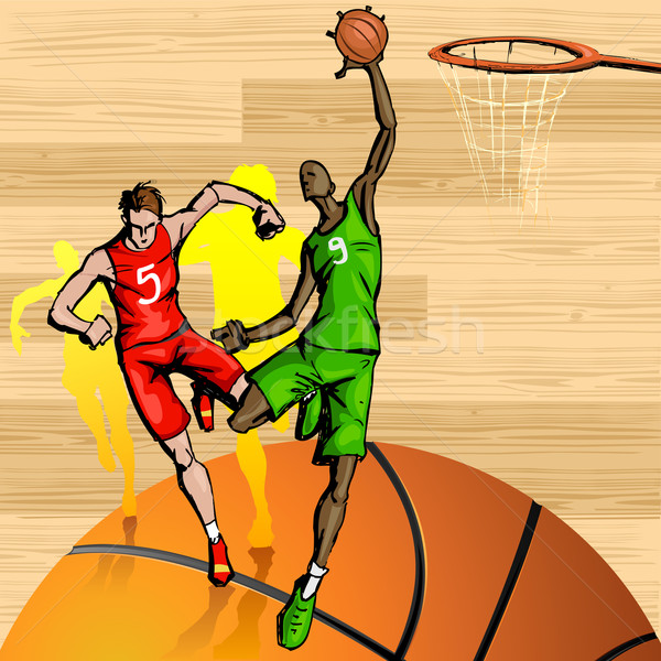 Basketball Stock photo © vectomart