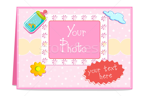 Baby Card Stock photo © vectomart