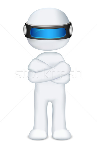 3d Scalable Man Stock photo © vectomart