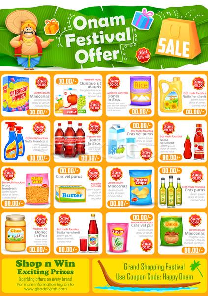 Happy Onam sale offer Stock photo © vectomart