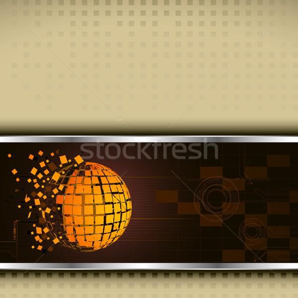 Technology Base Template Stock photo © vectomart