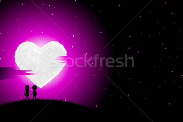 Love Kids Stock photo © vectomart