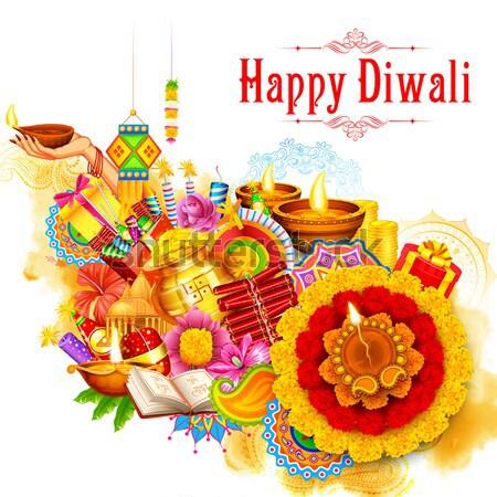 Diwali Background Stock photo © vectomart