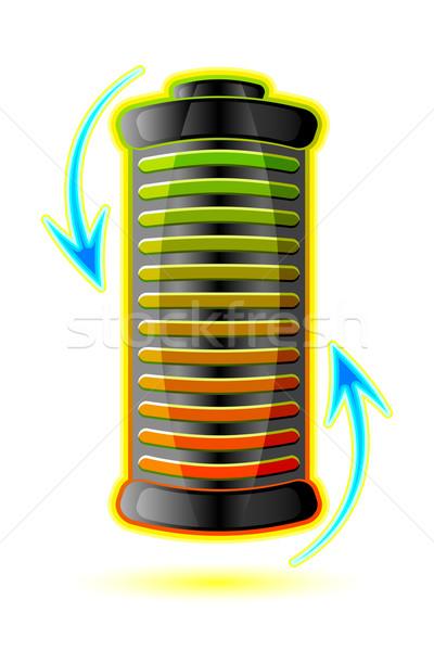 Battery Stock photo © vectomart