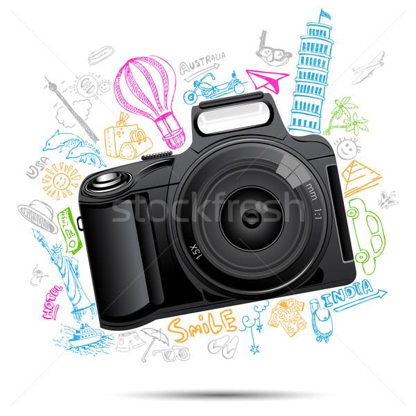 Travel Background Stock photo © vectomart