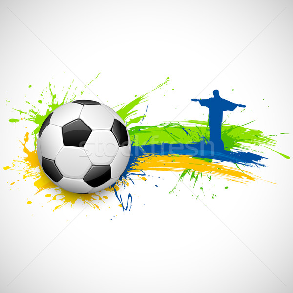 Football background Stock photo © vectomart