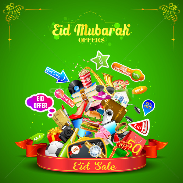 Eid Mubarak offer Stock photo © vectomart