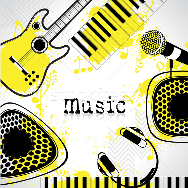 Music Background Stock photo © vectomart