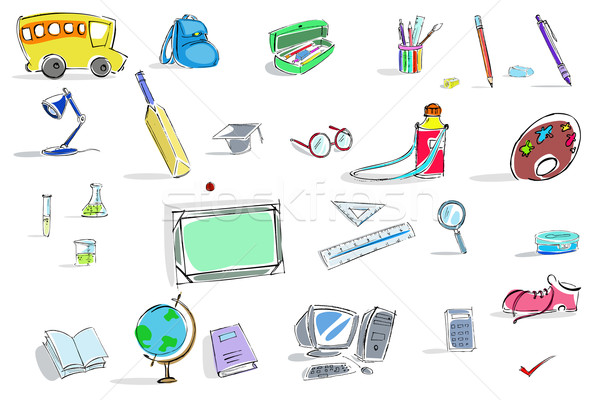 Education Icon Stock photo © vectomart