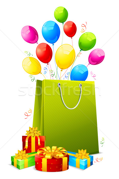 Gift Hamper Stock photo © vectomart