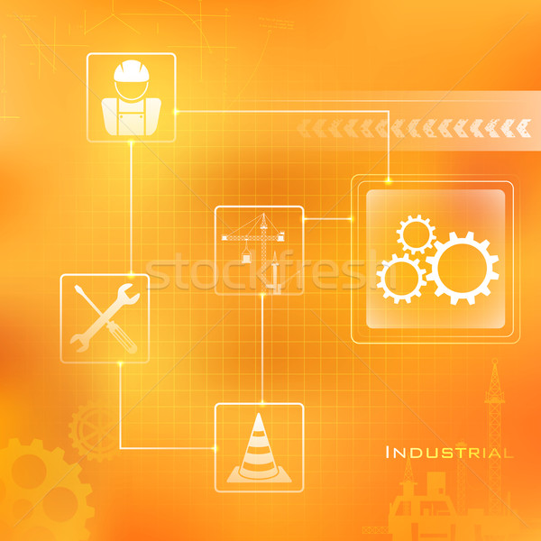 Industrial Background Stock photo © vectomart