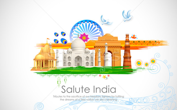 India Background Stock photo © vectomart